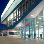 Institut Of Contemporary Art - dyle szklane - wejście boczne