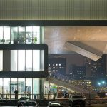Institut Of Contemporary Art - dyle szklane - detale