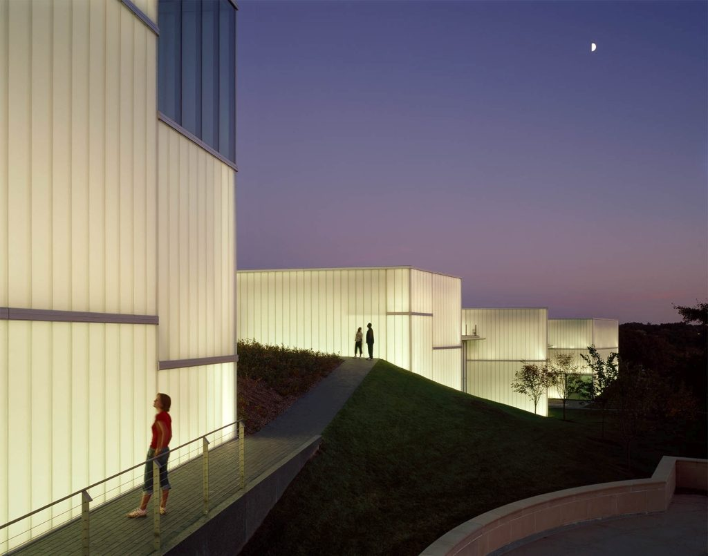 dyle szklane Nelson - Atkins Museum Steven Holl Architects